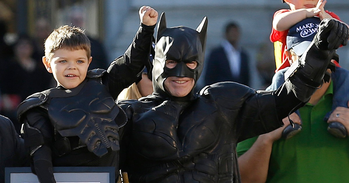 The boy who stole our hearts as 'Batkid' is now cancer-free