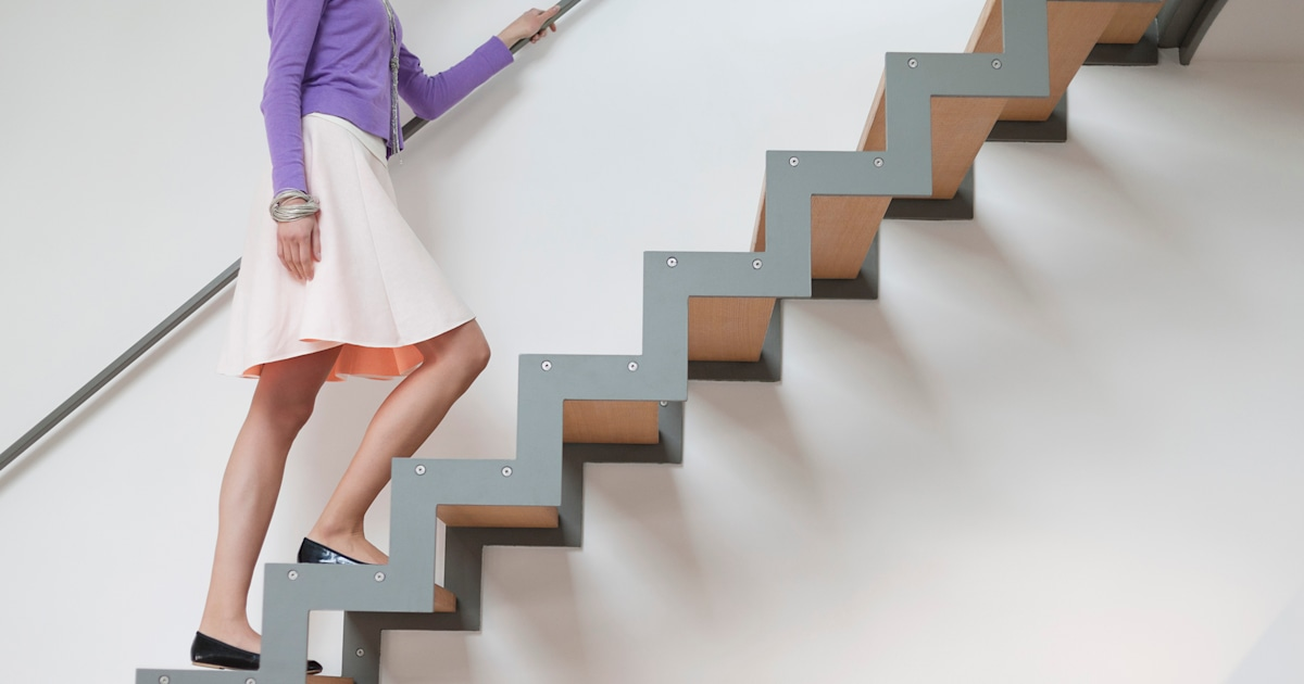 Can you do this stair test? It may predict your risk of dying of heart disease, cancer
