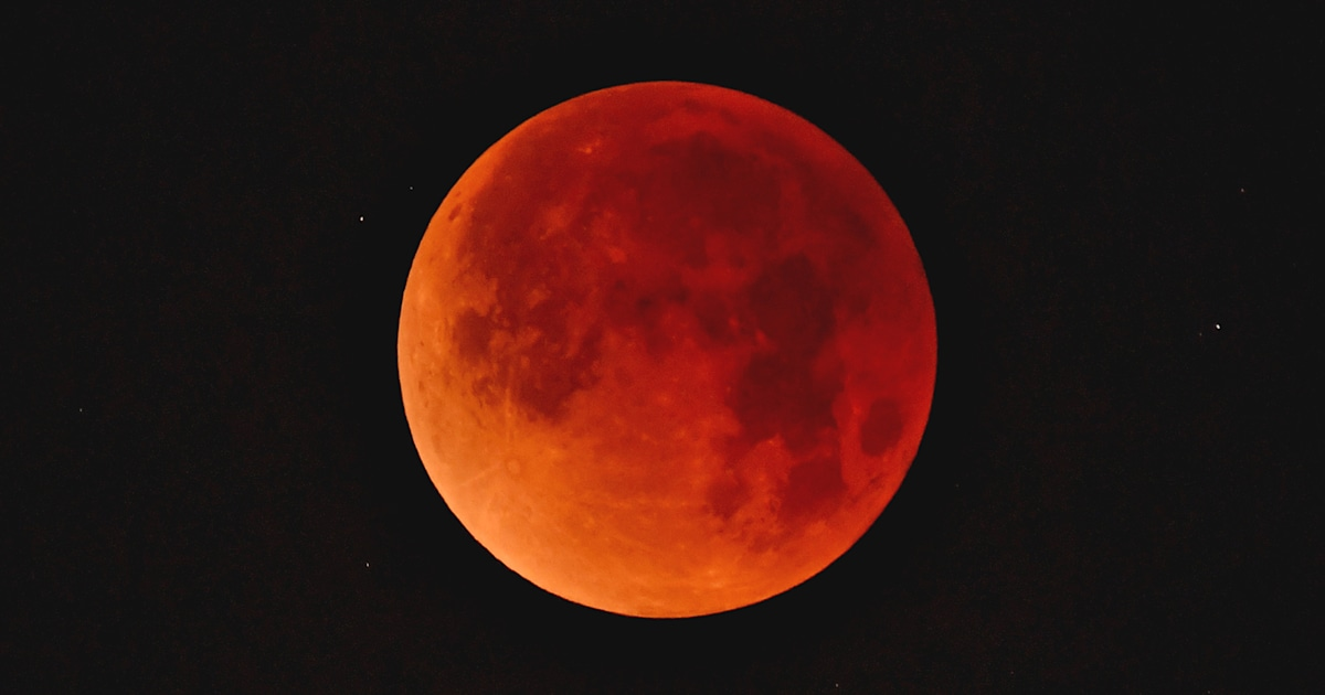 blood red wolf moon eclipse - photo #3