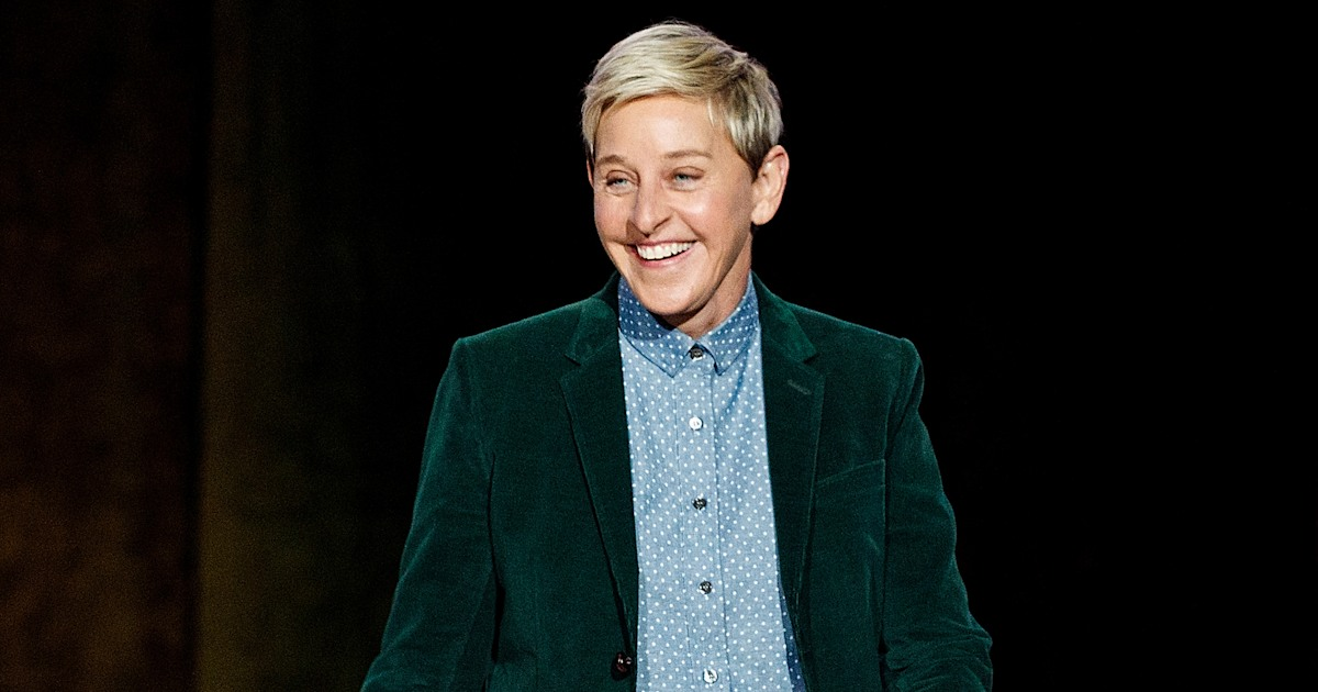 These are Ellen DeGeneres' favorite things to kick off the new year