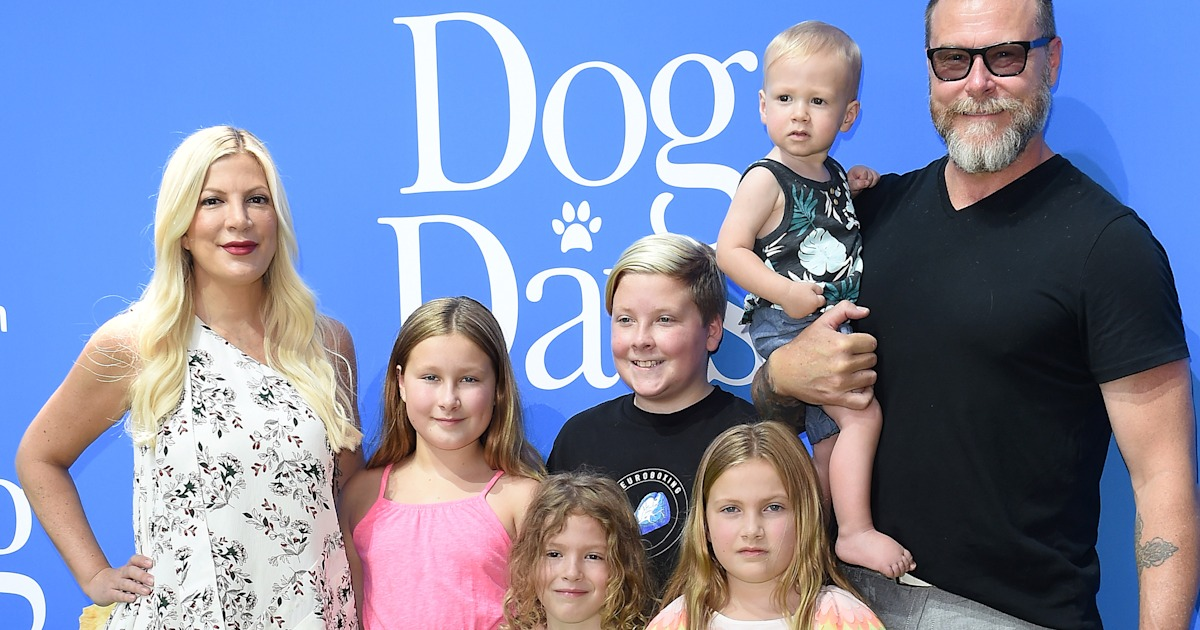 Tori Spelling's husband responds after kids are body-shamed: 'Shame on you all!'