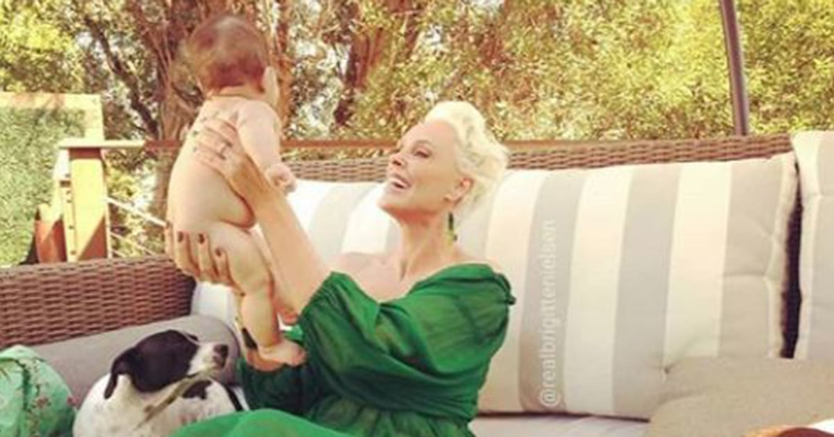 Brigitte Nielsen on why it's better to be a new mom at 55