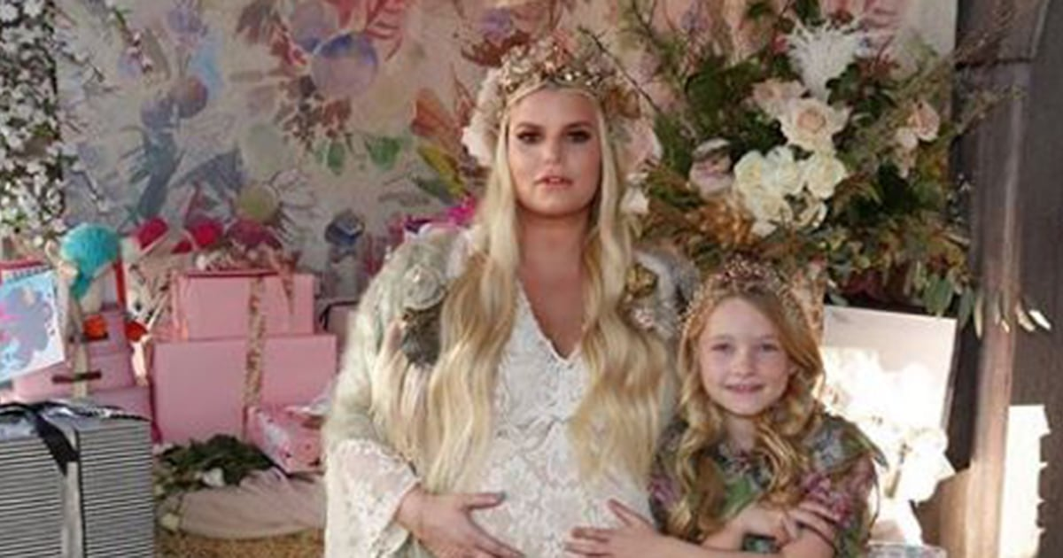 Jessica Simpson shares 'Birdie's Nest' baby shower pics and maybe the child's name