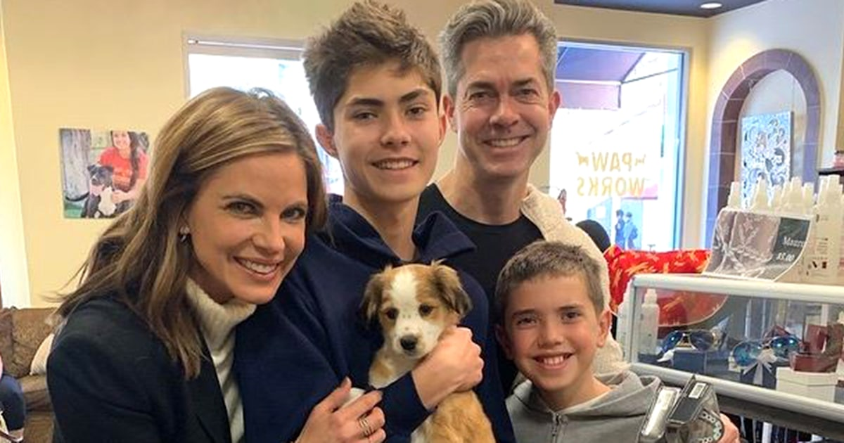 Natalie Morales rescues adorable puppy – find out the story behind his name!