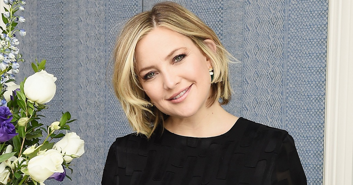 'Don't put too much pressure on yourself': Kate Hudson shares advice for new moms