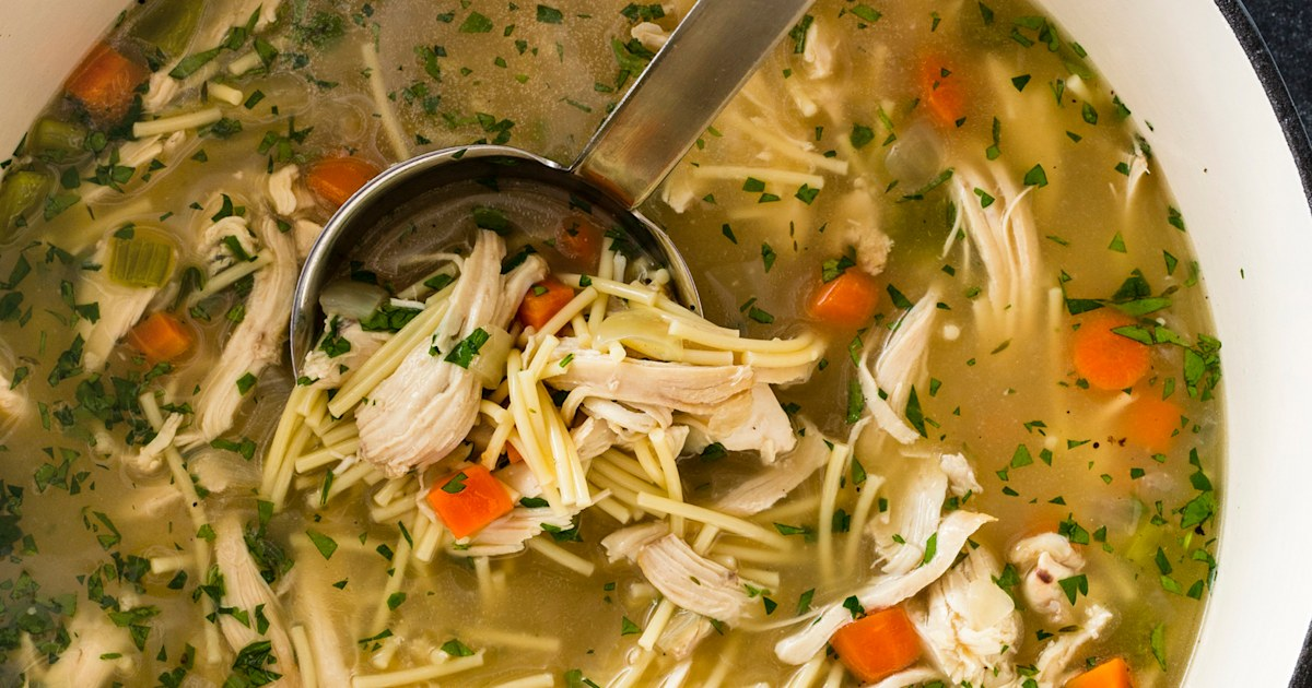 Eat well with these 10 easy slow-cooker chicken soups