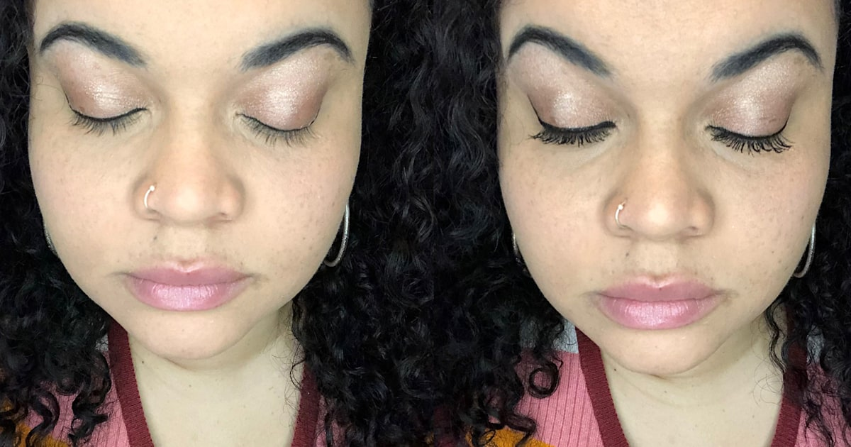 This $5 mascara with 1,400 reviews gives me lashes so long they look fake