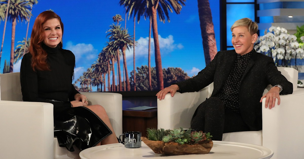 e885706fbd4 Here s what happened when Debra Messing asked Ellen to find her a date