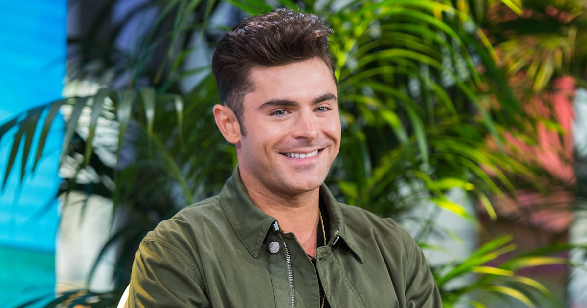 Zac Efron's new bleach-blonde hair has fans doing a double ...
