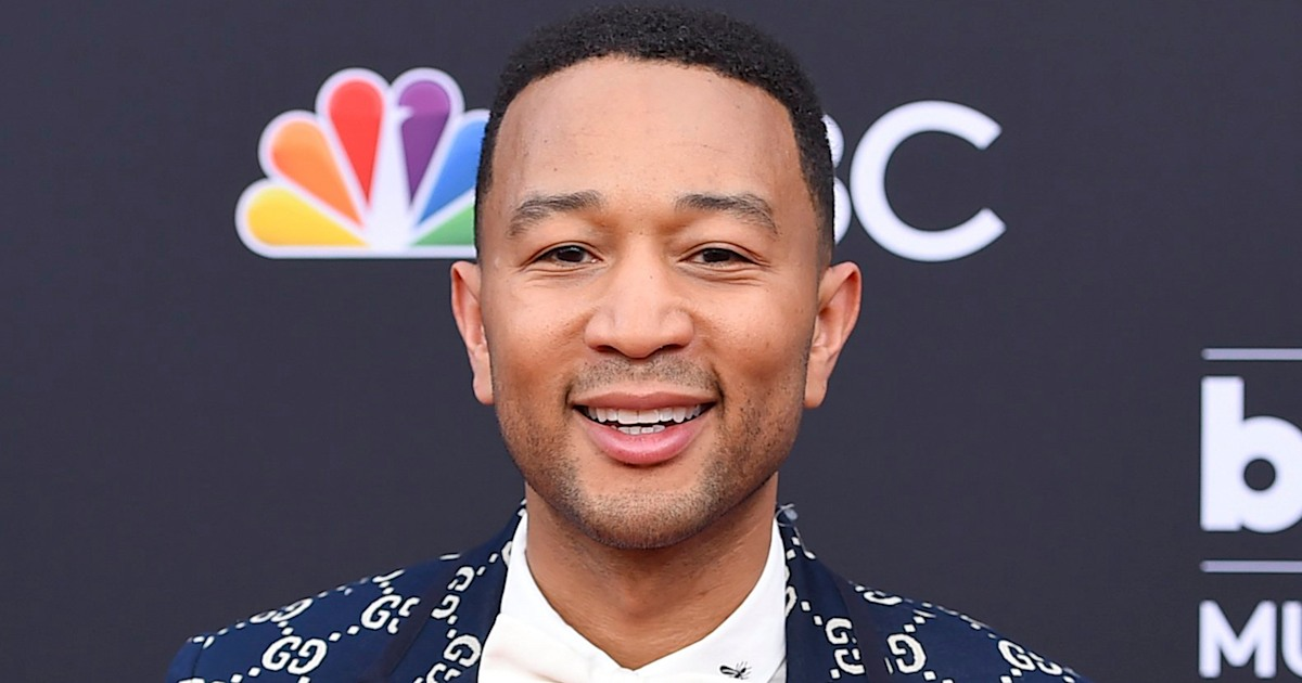 John Legend reveals he's learning to swim, fans send messages of support