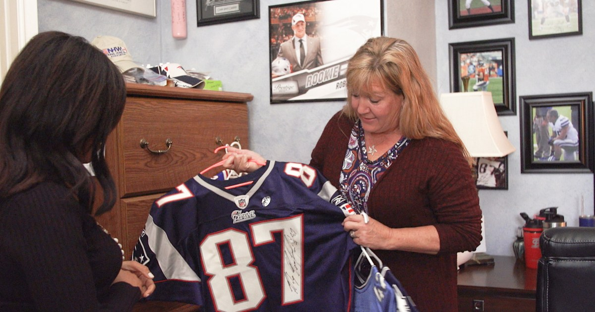 Rob Gronkowski's mom on Rob's retirement and Super Bowl