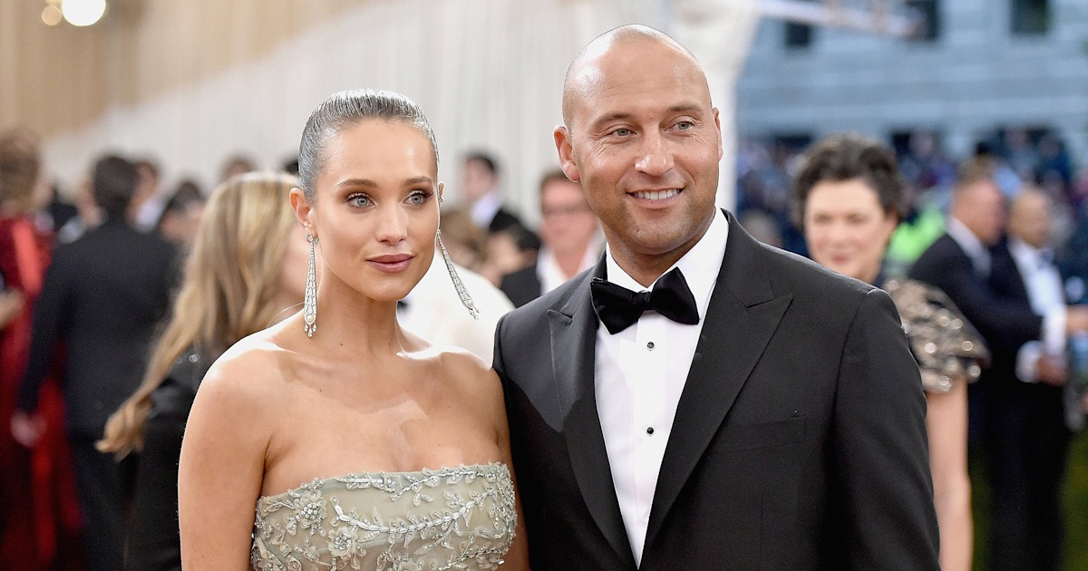 Derek Jeter and wife Hannah welcome 2nd daughter, Story Grey