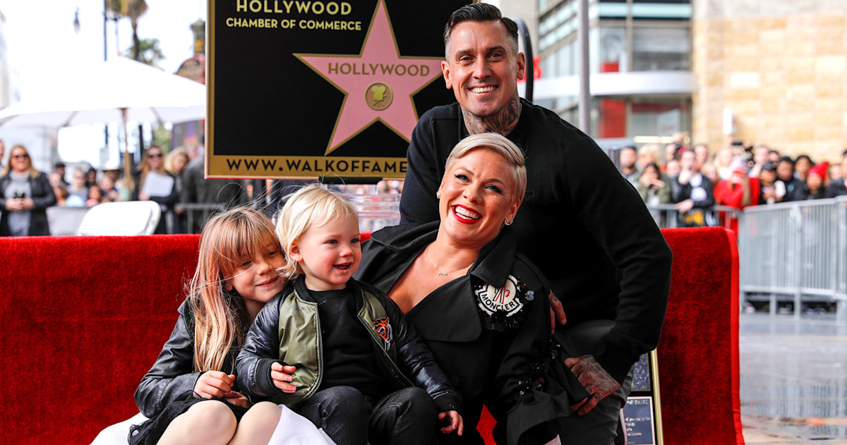 Pink shares adorable (and hilarious) note Willow wrote her for Walk of Fame event