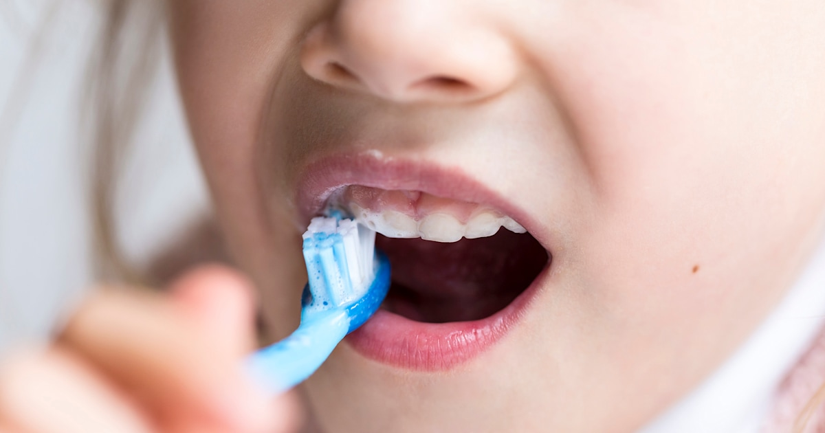 Kids are brushing too late, not using toothpaste correctly