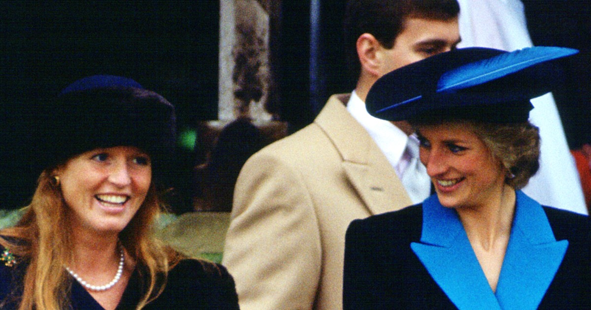 Sarah Ferguson says she and Princess Diana were portrayed 'all the time as rivals'
