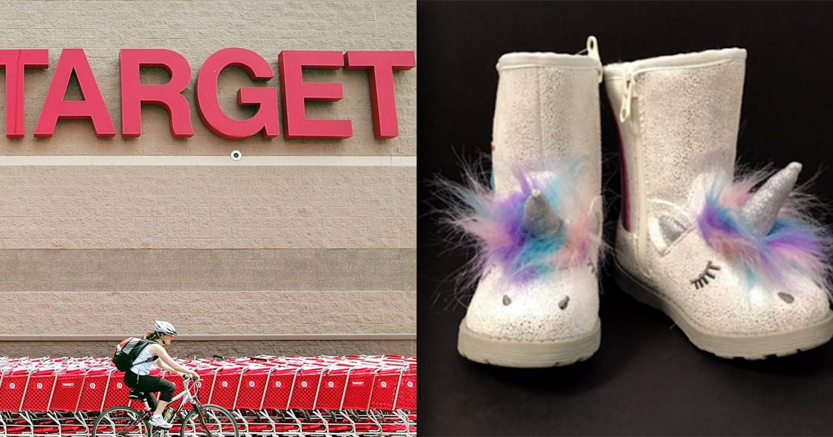 Target recalls kids' unicorn boots due to choking hazard