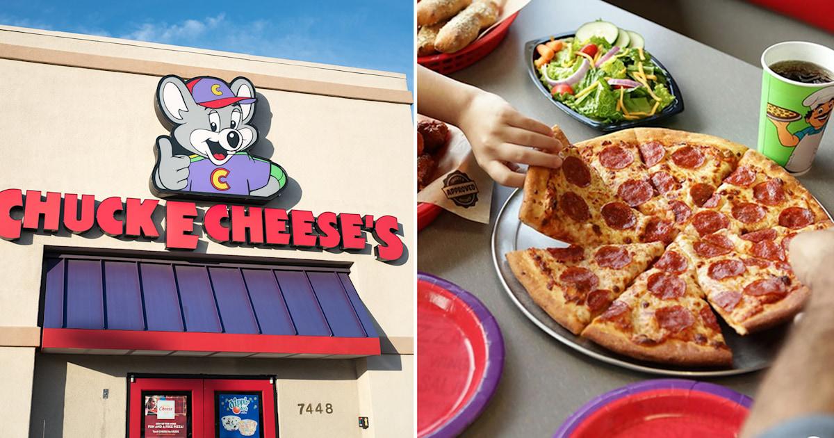 Does Chuck E. Cheese's serve leftover pizza? Restaurant responds