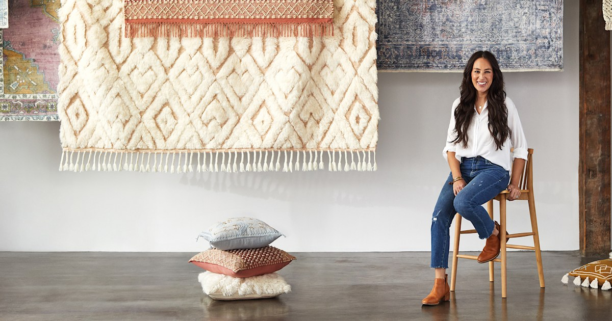 The Joanna Gaines Anthropologie home goods collection just launched