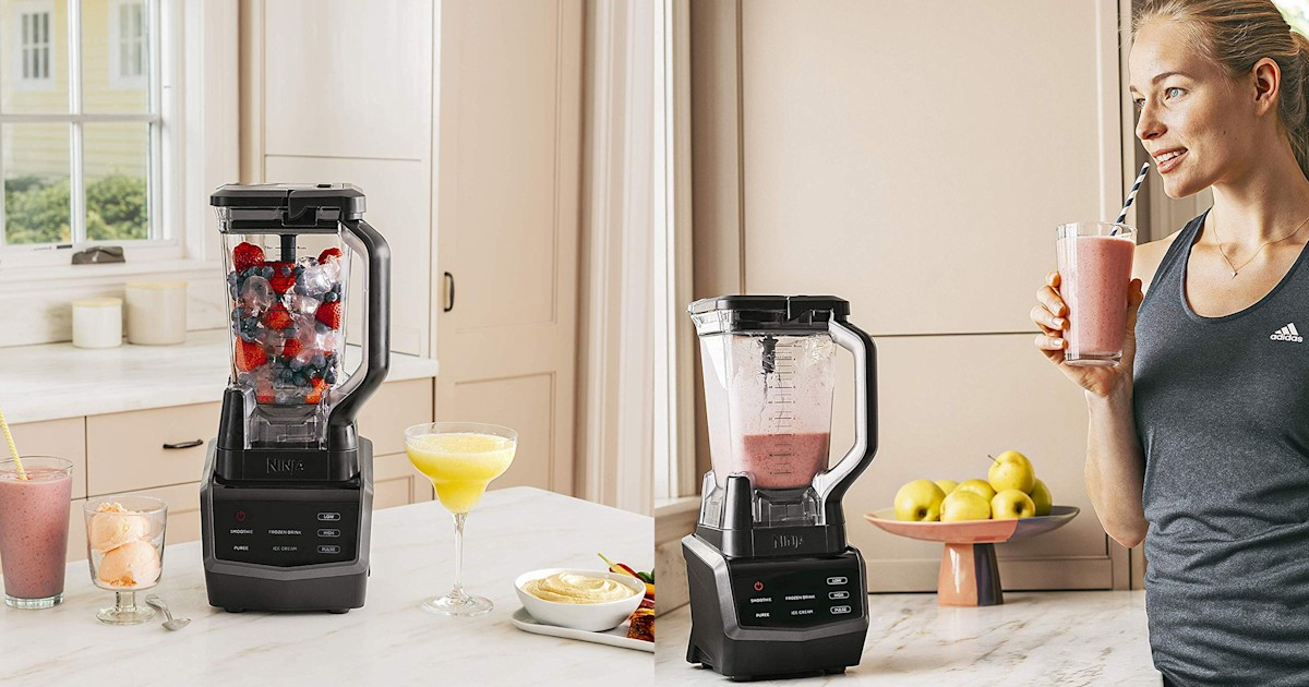 We found this touchscreen Ninja blender on sale for its lowest price ever