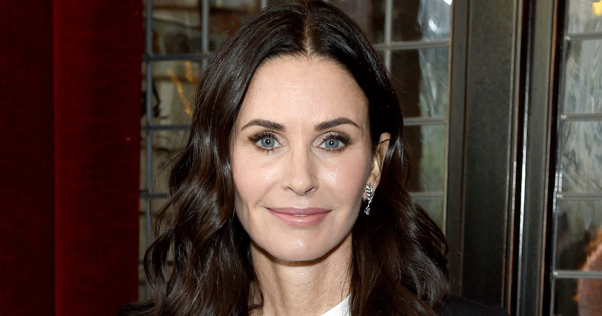 Courteney Cox reveals what led her to use fillers