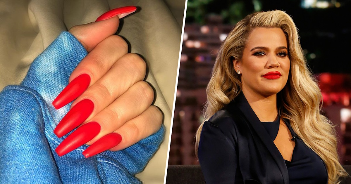 Khloe Kardashian responds to critics who mom-shamed her for long nails