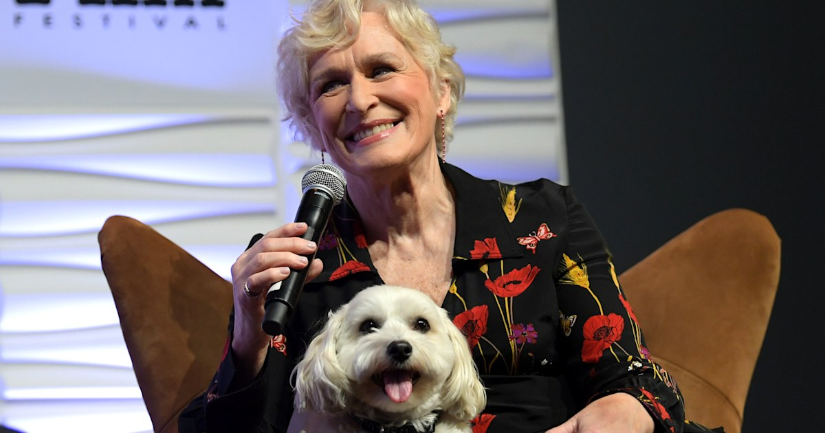 Glenn Close brought her dog to the Independent Spirit Awards
