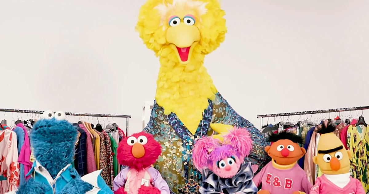 'Sesame Street' characters got a makeover from InStyle for show's 50th anniversary
