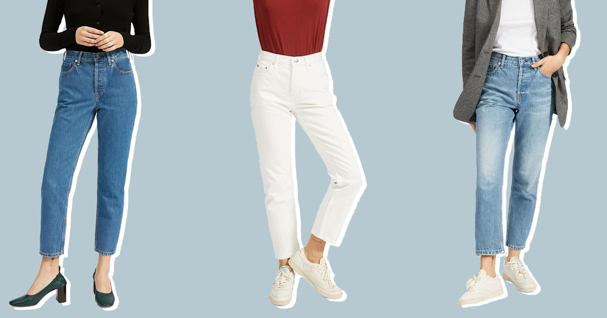 Everlane finally released '90s-inspired mom jeans and we're obsessed