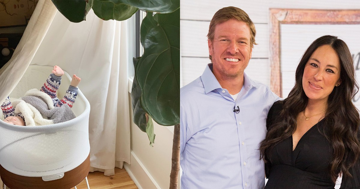 Chip and Joanna Gaines give bassinet to pregnant fan after Instagram exchange