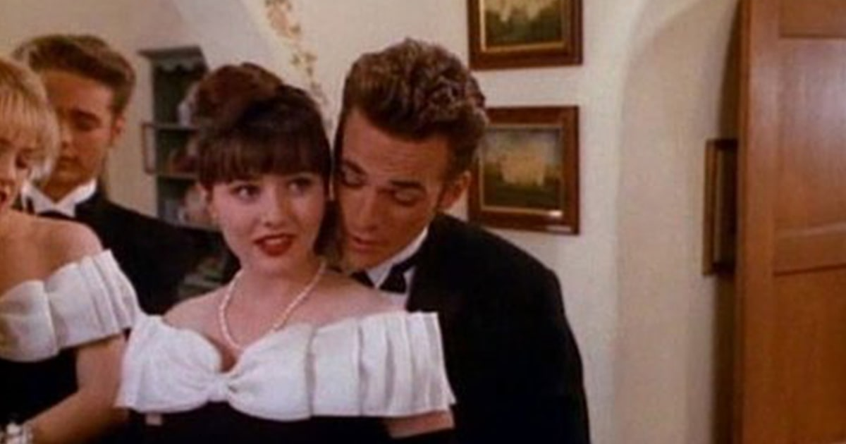 A look back at Luke Perry's most unforgettable 'Beverly Hills, 90210' moments