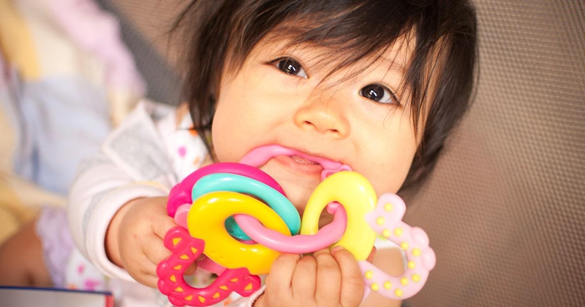 When do babies start teething?