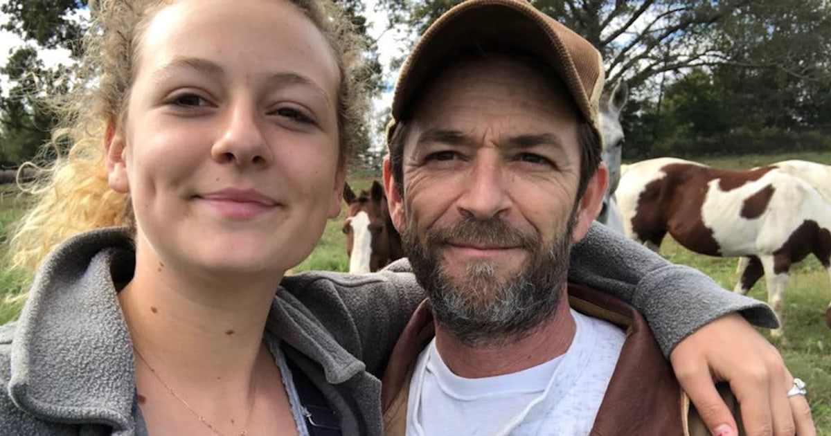 Luke Perry's daughter pays tribute to her dad with 'Riverdale' hat