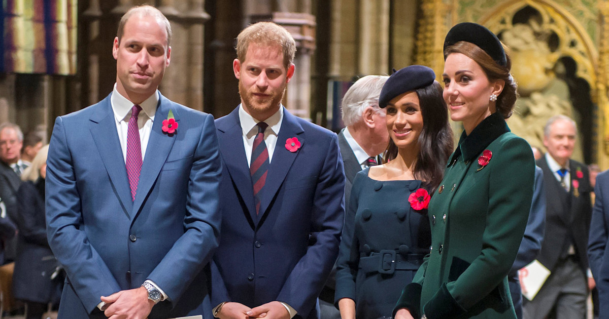 Prince Harry And Prince William Split Royal Household