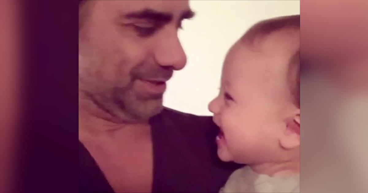 John Stamos shares video of son Billy laughing for those who 'need a good smile'
