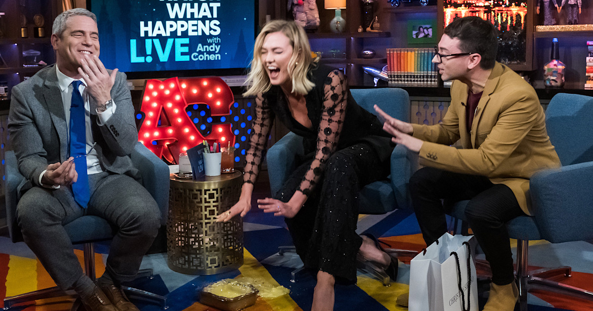 Karlie Kloss tried to impress Andy Cohen — and it went terribly wrong