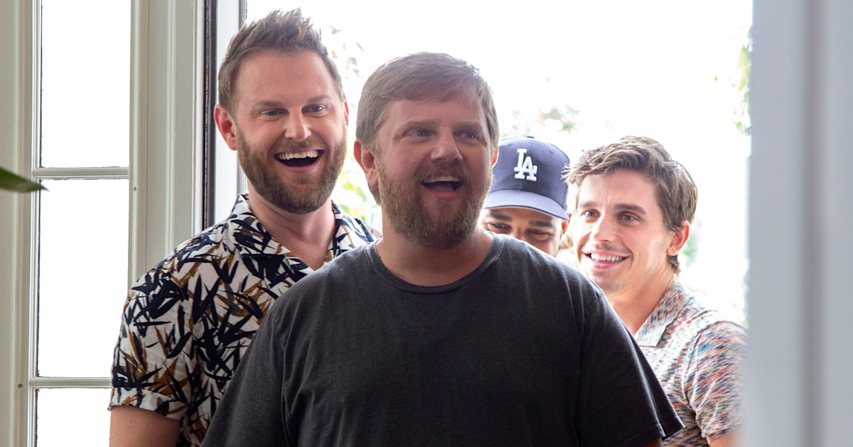 On 'Queer Eye' the 'Fab Five' help grieving Rob Elrod move on