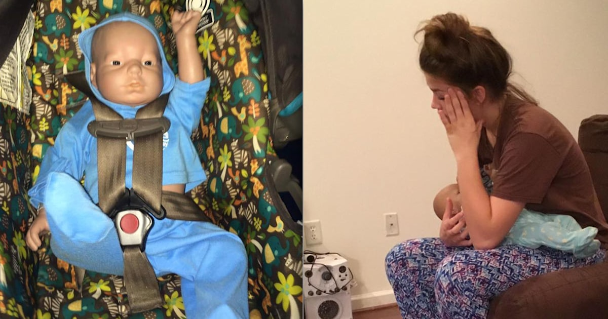 Mom has the best answer when teen asks for help with robot baby