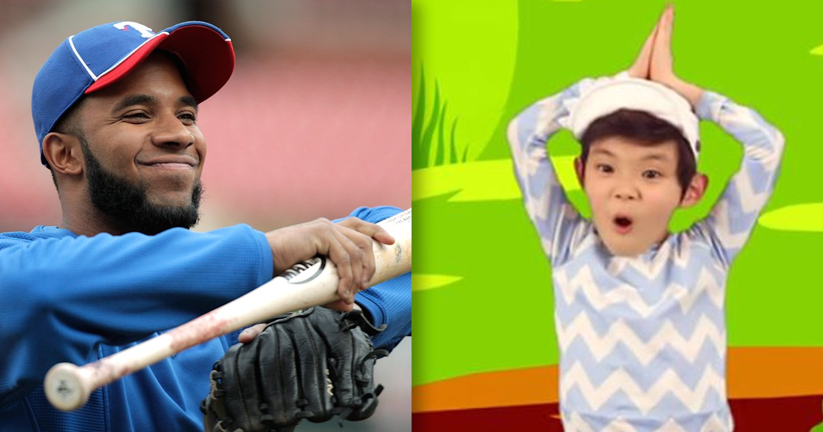 Texas Rangers player is using 'Baby Shark' as his walk-up song for a great reason