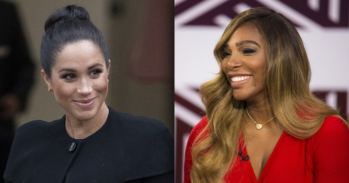 Did Serena Williams reveal the sex of Meghan Markle's baby?