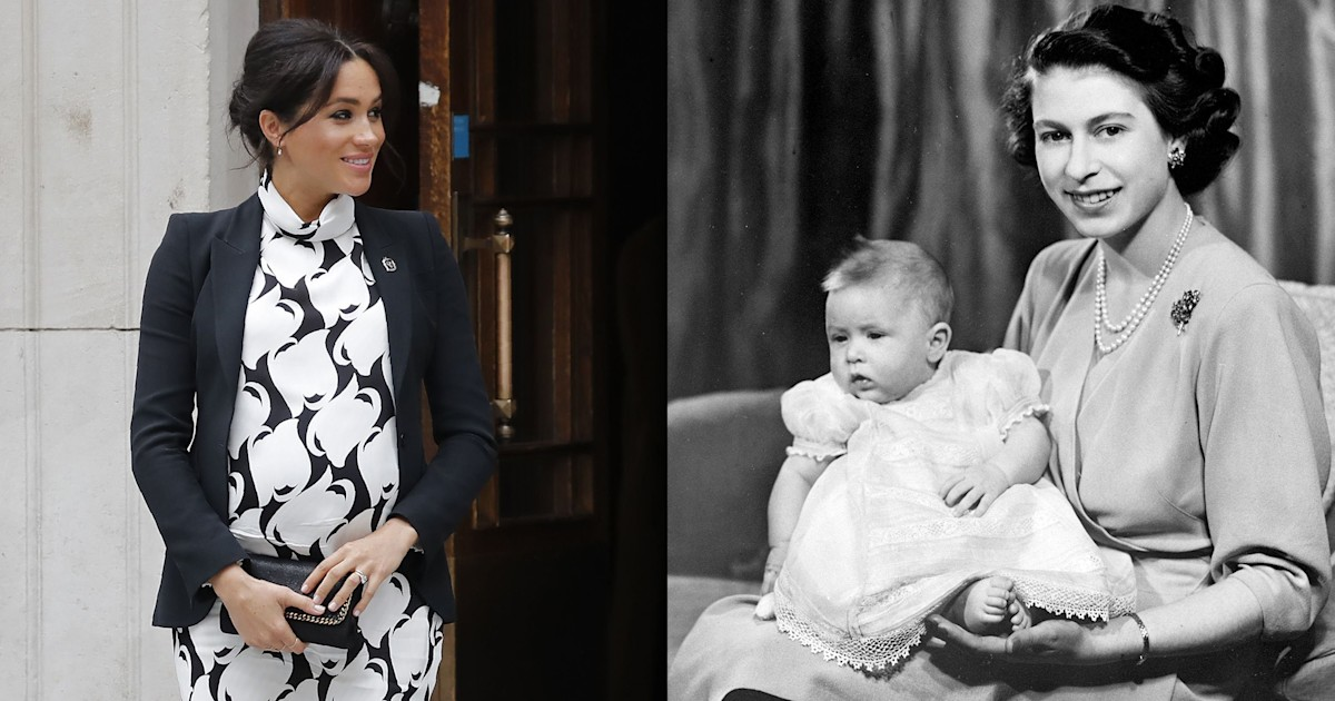 If Meghan Markle gives birth at home, she'll be following a royal tradition