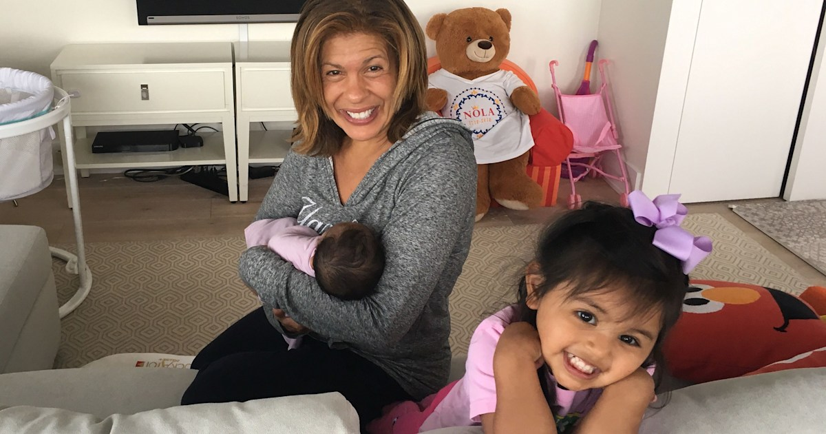 Savannah shares update after visiting Hoda and 'adorable' baby Hope