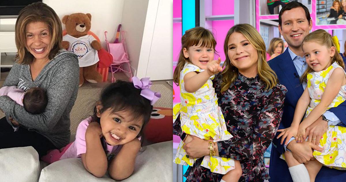 Jenna Bush Hager gifts Hoda Kotb's girls her daughters' hand-me-downs