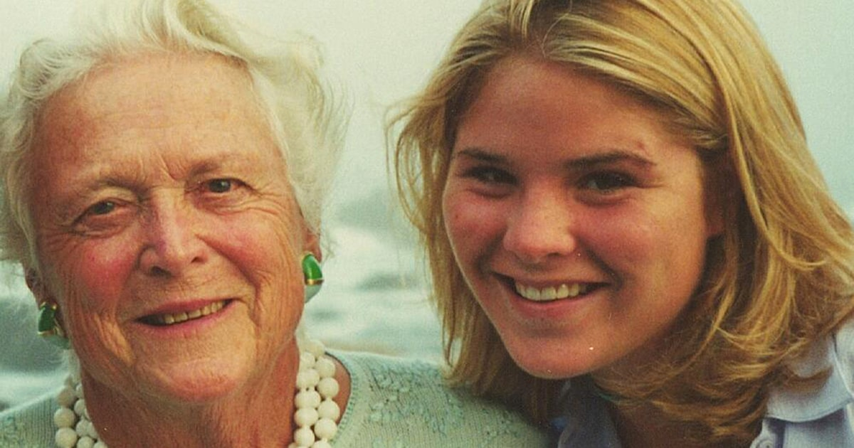 Jenna Bush Hager found 1 last Christmas gift from her grandmother after she died