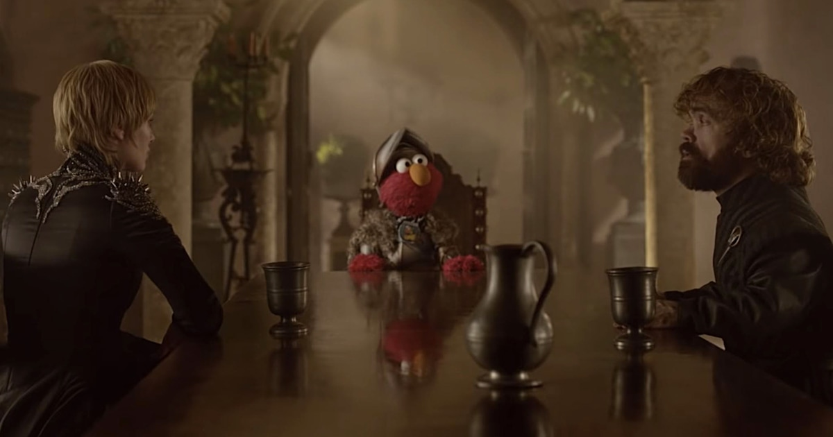 Respect is coming: See Elmo settle 'Game of Thrones' beef