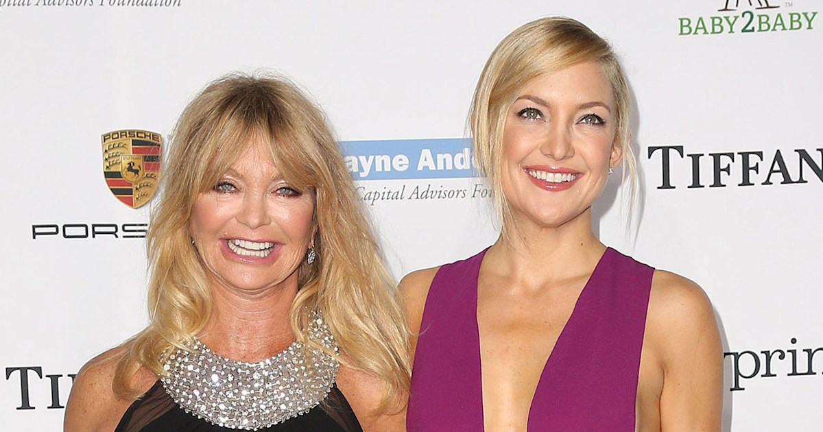 Goldie Hawn shares nostalgic photo celebrating Kate Hudson's birthday
