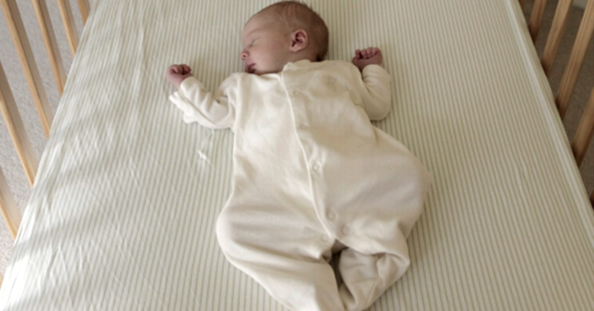 Most infant suffocations arise from unsafe sleep practices, CDC study finds