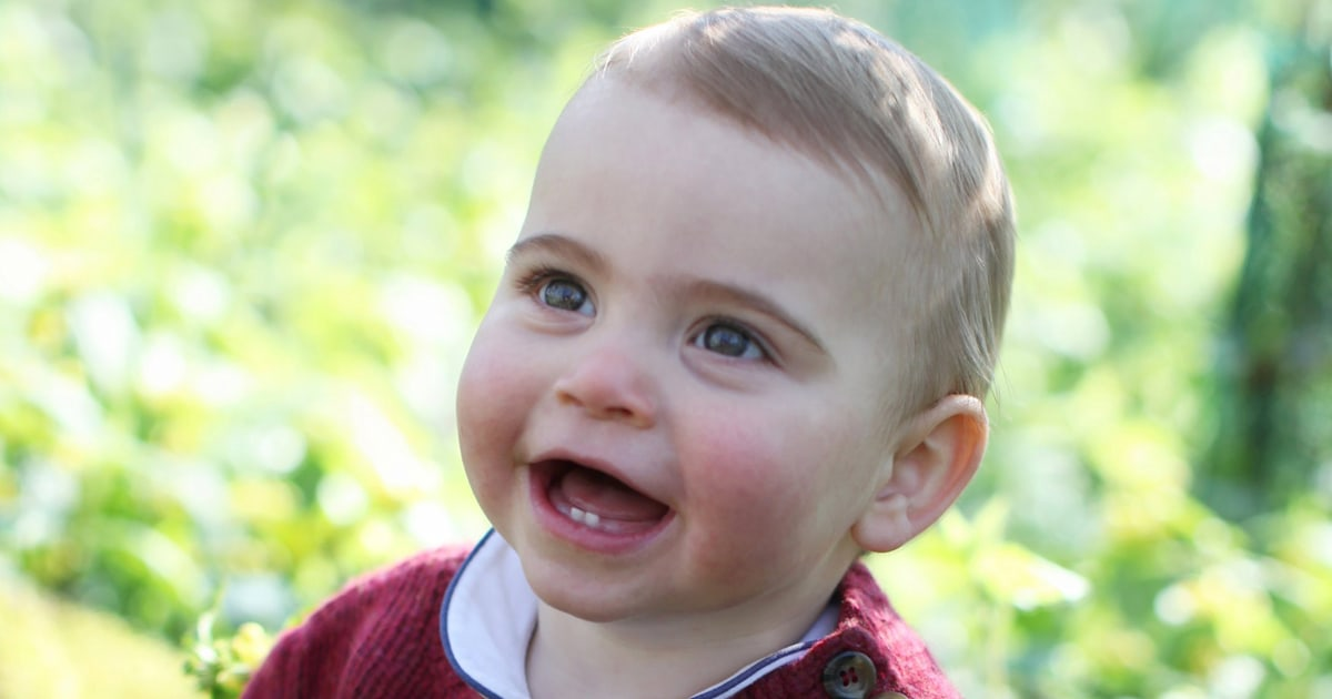 New pictures of Prince Louis are released ahead of his 1st birthday