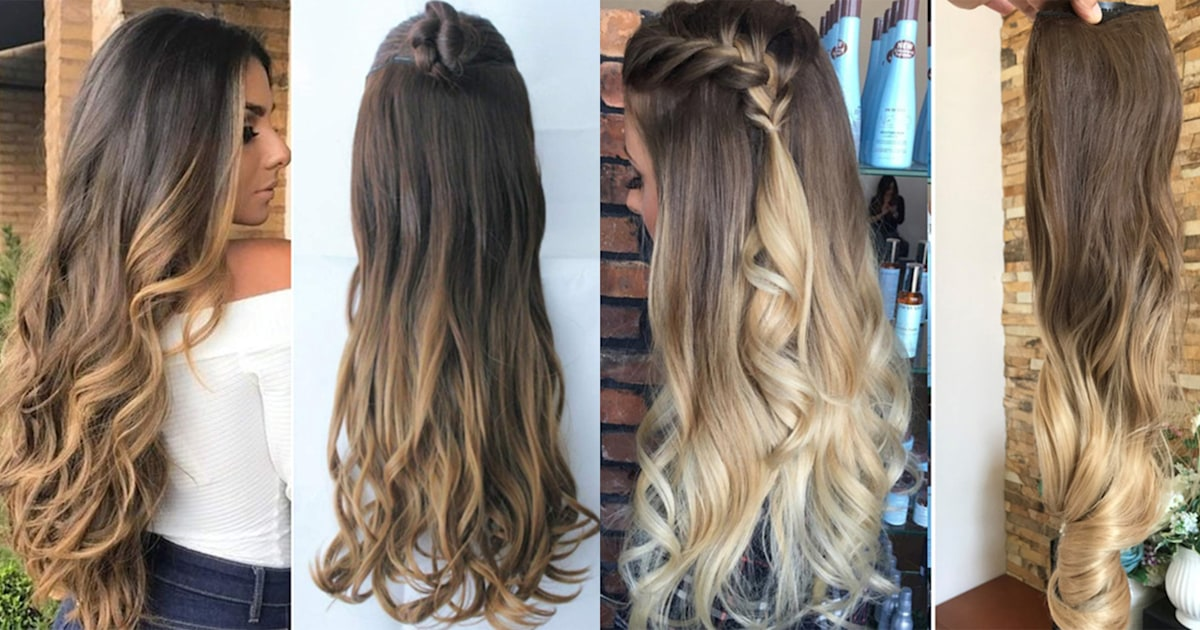 10 best clip,in hair extensions according to celebrity