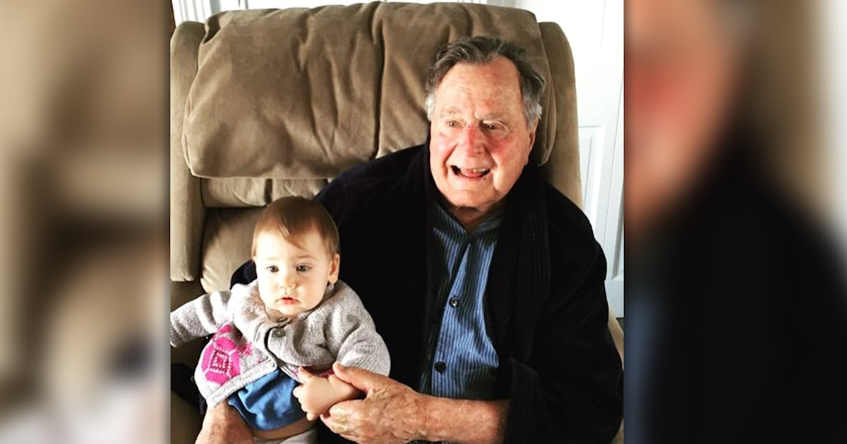 Jenna Bush Hager says George H.W. Bush cried when she named Poppy after him