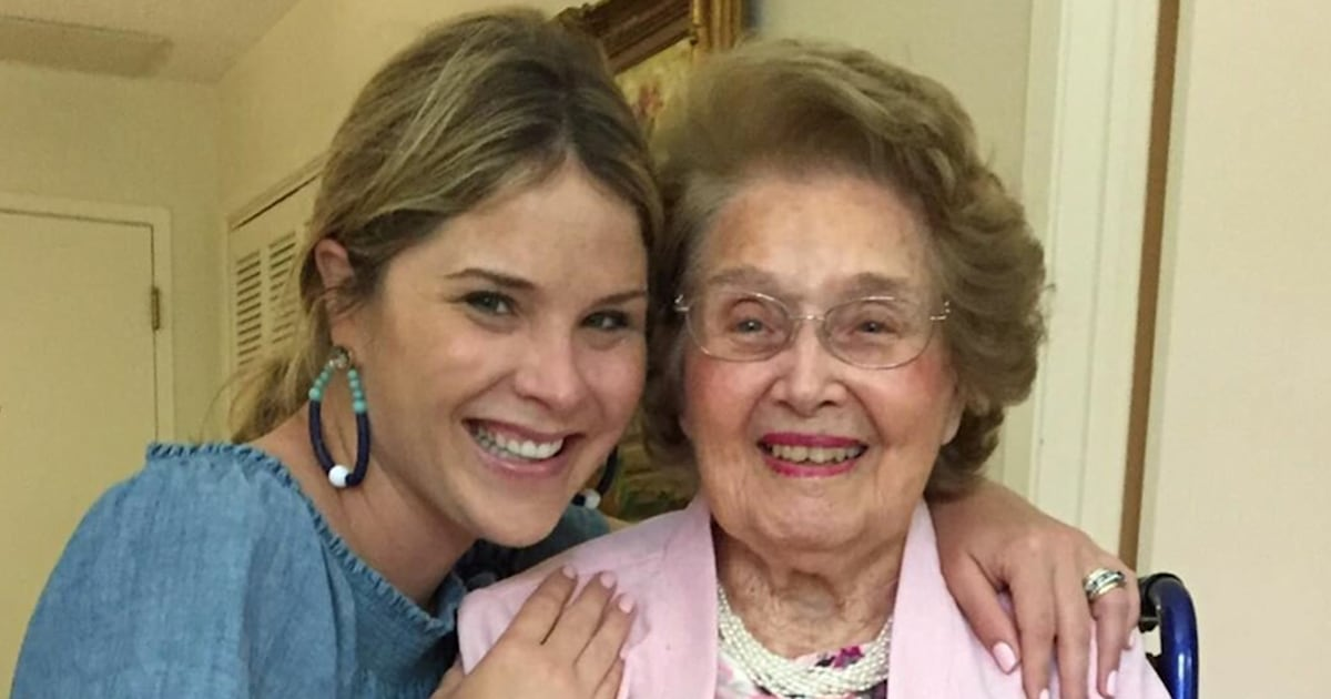 Jenna Bush Hager honors grandma and namesake Jenna Welch, who passed away Friday